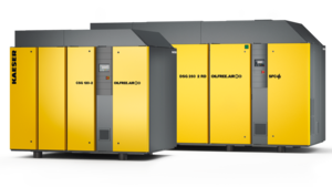 CSG-2 and DSG-2 air-cooled oil-free compression rotary screw compressors from Kaeser Kompressoren
